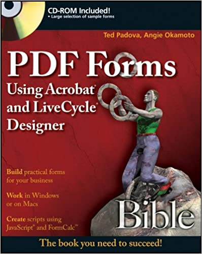 PDF Forms Using Acrobat and LiveCycle Designer Bible   Ebooks