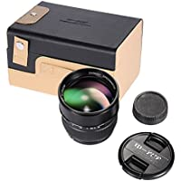 Zhongyi Optics 85mm F1.2 135 Full Frame Fixed Focal Long Lens for Nikon F Mount SLR Cameras