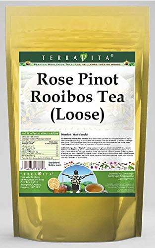 Rose Pinot Rooibos Tea (Loose) (8 oz, ZIN: 543635) - 3 Pack