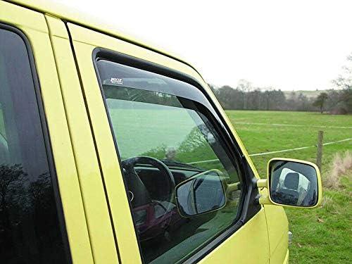 Just Kampers T4 Windabweiser Smoked 2 St/ück kompatibel f/ür VW Transporter T4 90-03 ohne Modelle mit elektrischen Fenstern.