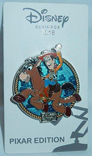 (Disney Visa Rewards Exclusive Toy Story (Bullseye and Woody) Movie Pin 2018)