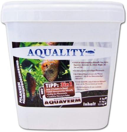 AQUALITY Aquarium Pflanzen Nährstoffbodengrund 3in1 (GRATIS Lieferung in DE - Für alle Aquarien-Pflanzen geeignet. Das Nährstoffdepot versorgt die Pflanzen mindestens 1 Jahr)