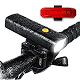 Paick Bicycle Light Rechargeable Super Bright, BF05, Headlight, Powerbank, Waterproof and Dustproof with Limited Free Tail Light