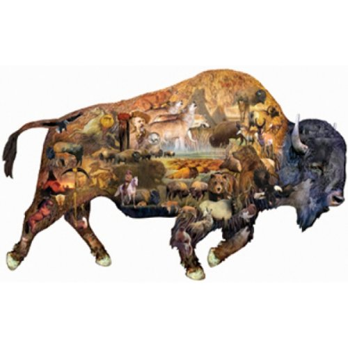 Prairie Dweller a 1000-Piece Jigsaw Puzzle by Sunsout Inc.