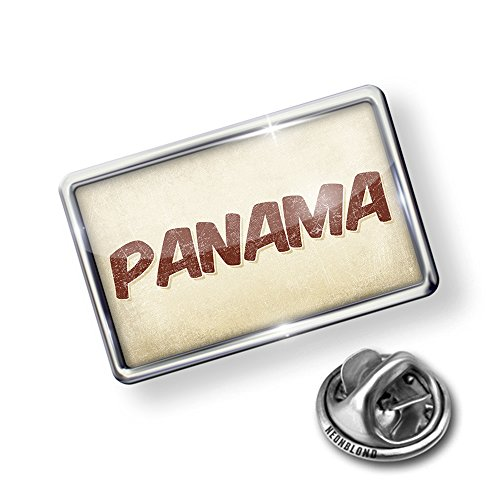 wholesale Pin Panama Cocktail, Vintage style - Lapel Badge - NEONBLOND