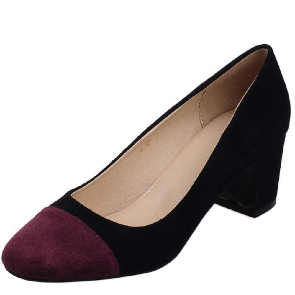 Zanpa Damen Mode Pumps Mid Heel36 EU1#black
