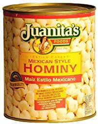 Juanita\'s Mexican Style Hominy - 29 oz. (Pack of 3)