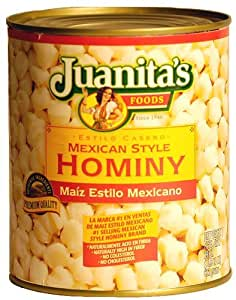 Juanita's Mexican Style Hominy - 29 oz. (Pack of 3)