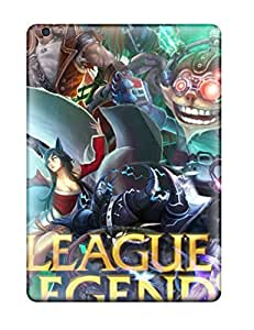 Ipad Air Case Cover - Slim Fit Tpu Protector Shock Absorbent Case (league Of Legends)