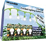 Miracle LED 602584 LED-Ready 24ft Corded Lighting