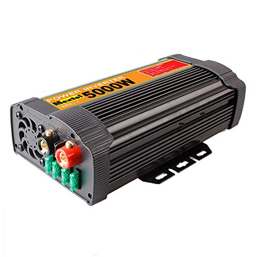 UNNC-7 10000W Peak Solar Power Inverter 5000W 12V DC to 110V AC Modified Sine Wave Controller ()