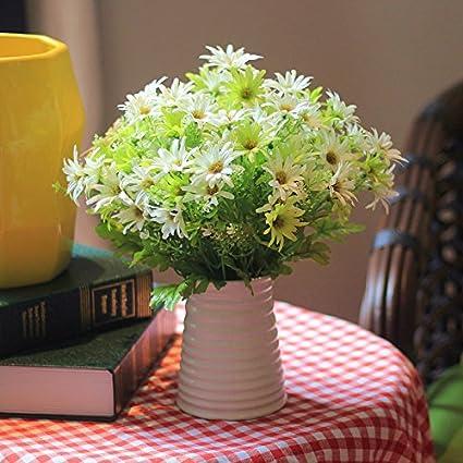 Flor De Seda Seco Plástico Paisley Simulación Haz Flores