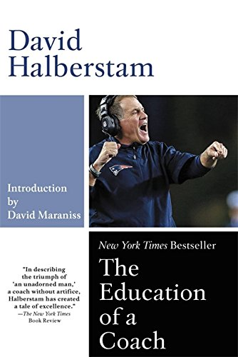 Book cover for The Education of a Coach