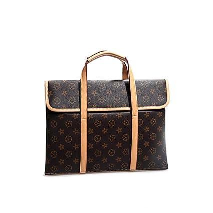 47d0e1d07f7d Amazon.com: LXIANGP Ladies Portable Laptop Bag Slim Briefcase A4 ...