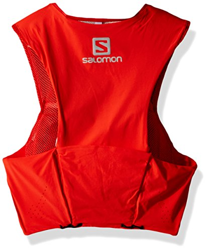 Salomon Unisex S/Lab Sense Ultra 5 Set Hydration Vest, Racing Red, X-Small by Salomon (Image #2)