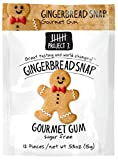 Project 7 Gingerbread Snap Holiday Gourmet Gum (Pack of 1)