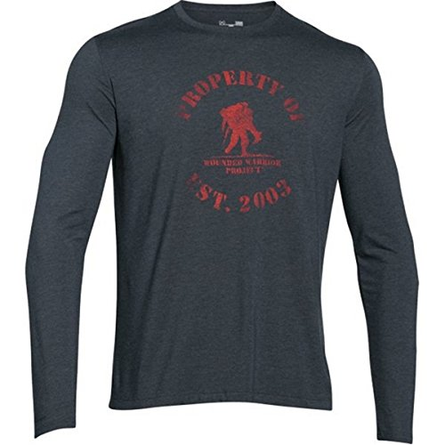 Under Armour Men's Property of WWP Long Sleeve T-Shirt, Stealth Gray , Medium