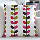 HOMEE Thick Fabrics Home Cotton Embroidery Office Sofa Car Pillow Cushion Kit Pillow