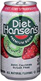 baking soda candy - Hansen's Diet Soda Cans, Kiwi Strawberry, 12 Ounce (Pack of 24)