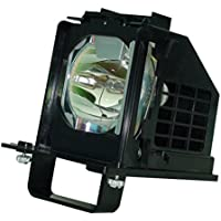 AuraBeam Professional Mitsubishi WD-65638 Television Replacement Lamp with Housing (Powered by Philips)