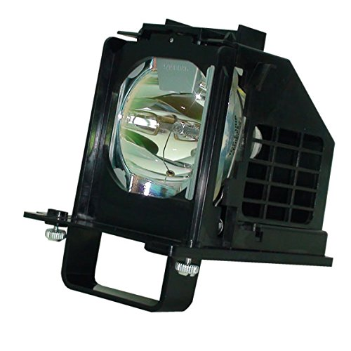 Aurabeam 915B441001 Professional Bulb Replacement for Mitsubishi TV Genuine Original Philips Lamp with Housing ()