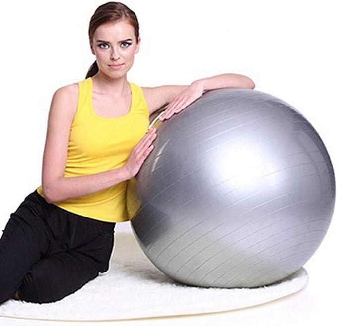 PBFONE Pelota de Yoga Grande 65 cm, Pelota de Ejercicio Suave ...