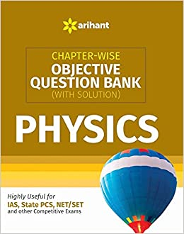Buy Chapter-wise Objective Question Bank(With Solution) Physics Book