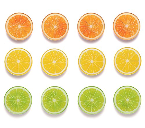 Fridge Magnets Refrigerator 12 Orange