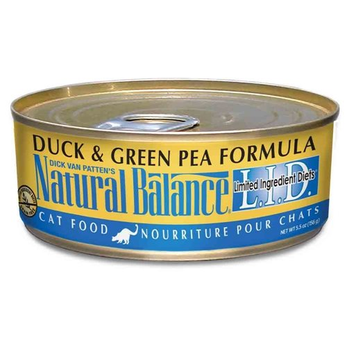 Natural Balance Canned Cat Food, Limited Ingredient Duck And