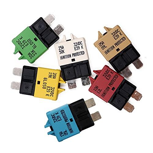 Switches Mixed 28VDC 5A 10A 15A 20A 25A 30A T Tocas Manual Reset ...