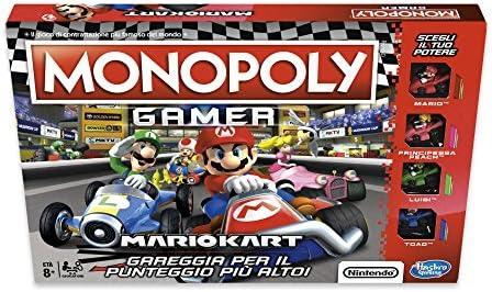 Hasbro Monopoly Monopoly Gamer Mario Kart, E1870103