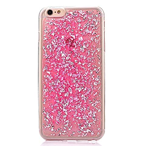 iPhone SE Case, iPhone 5S Case, Crosstree Luxury Soft Bling Glitter Sparkle Hybrid Bumper Case with Liquid Infused with Glitter and Stars for iPhone 5 Case (iPhone5/5S/SE, (I Phone 5s Case In Pink)