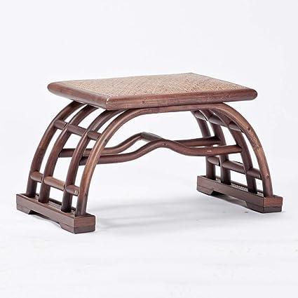 Magnificent Amazon Com Lxp Footstool Footstool Tea Table Stool Rattan Inzonedesignstudio Interior Chair Design Inzonedesignstudiocom