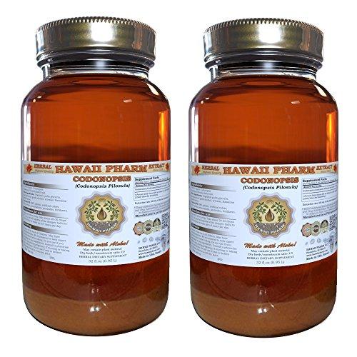 Codonopsis Liquid Extract, Organic Codonopsis (Codonopsis Pilosula) Tincture Supplement 2x32 oz Unfiltered