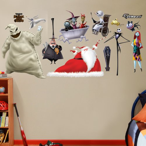 FATHEAD Nightmare Before Christmas Collection Graphic Wall Décor by FATHEAD