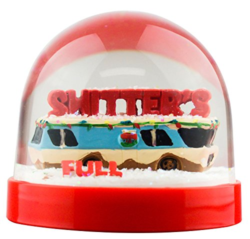 Funny Christmas Snow Globe Shitter's Full (Snow Globe Vacation Christmas)
