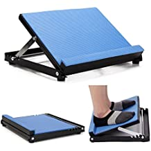 "NEPPT Slant Board - Calf Stretcher Incline Stretching Board Calf Stretch Wedge for Hamstring Achilles, 15.5""x 13.5"", 4 Position (330lb Limit)"
