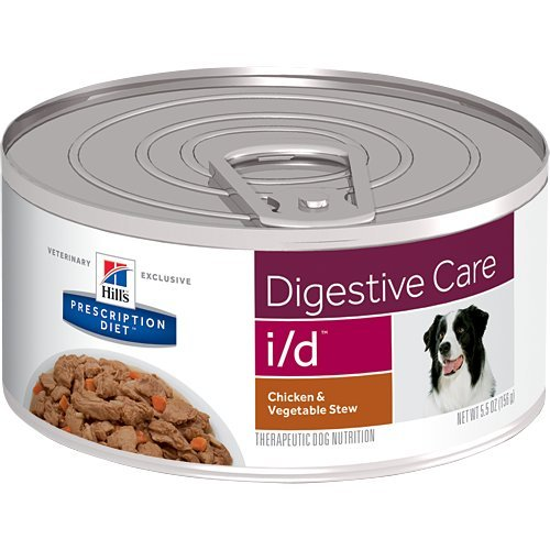 (Hill's Prescription Diet i/d Digestive Care Chicken & Vegetable Stew Canned Dog Food 24/5.5 oz)