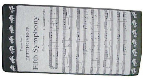 Beethoven's 5th Tapestry Piano Bench Cushion 14