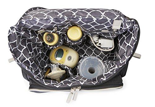 Bananafish Breast Pump Back Pack, Grey Heather by Bananafish (Image #5)