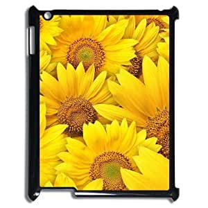 ALICASE Diy Cover Custom Case Sunflower For IPad 2,3,4 [Pattern-1]