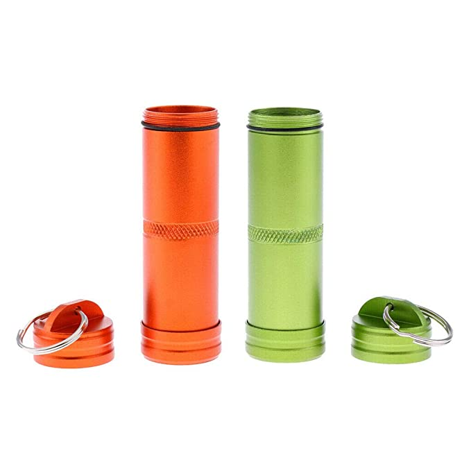 9a2564fec8e3 Amazon.com: NATFUR 2 Pcs Pill Medicine Box Case Holder Container ...