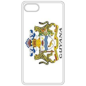 Guyana Coat Of Arms Flag Emblem White Apple Iphone 6 (4.7 Inch) Cell Phone Case - Cover