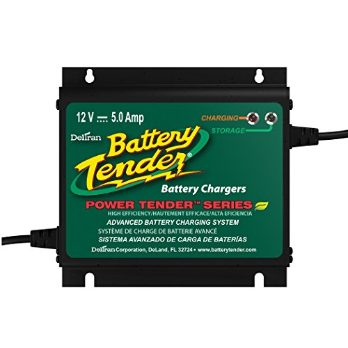 Battery Tender 022-0157-1 Waterproof 12 Volt Power Tender Plus Battery Charger