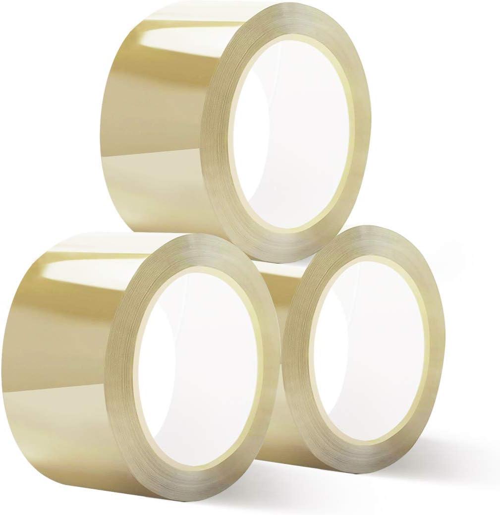 Zedelmaier Paket Klebeband PP Verpackungsband 60 mm x 66 Meter Transparent 1 Rollen