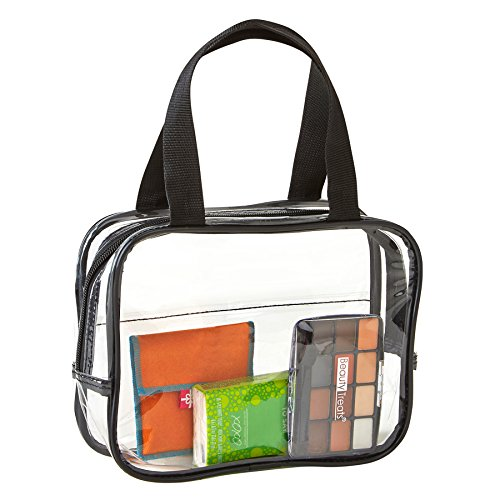 Clear Purse Stadium Approved - Clear TSA Approved Toiletry Bag For Men Women ()