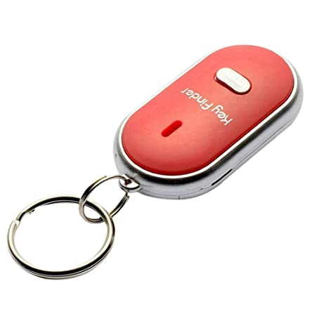 COLOUR: WHITE Wireless Whistle Key Finder Fob Find your keys from a range of 1m to 20m*