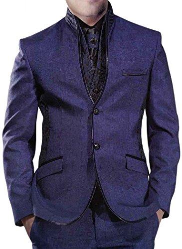 INMONARCH -  Smoking  - Uomo Purple-Gray 52 Lungo