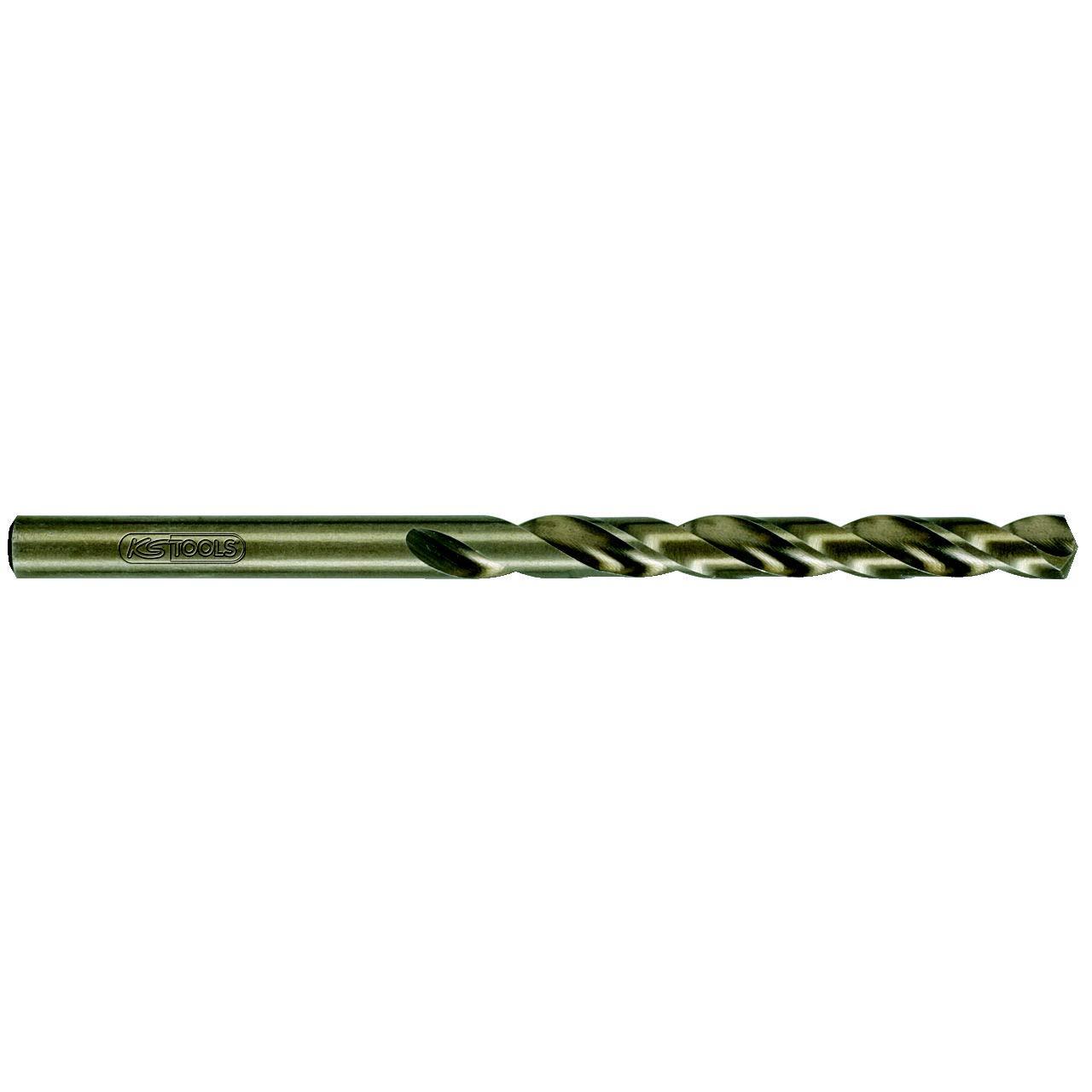 KS Tools 330.3032 HSS-G Co 5 Spiralbohrer, 3,2mm, 10er Pack KS-Tools Werkzeuge-Maschine 4042146165331