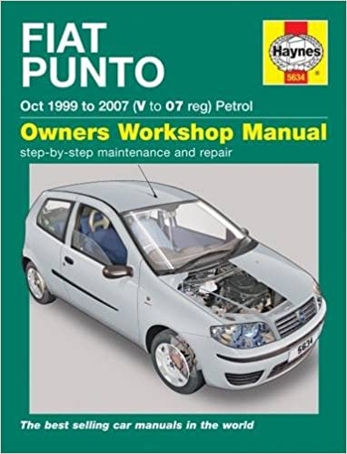 Fiat punto petrol service and repair manual 1999 2007 haynes fiat punto petrol service and repair manual 1999 2007 haynes service and repair manuals john s mead r m jex 9780857336347 amazon books sciox Gallery